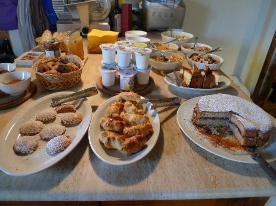 Agriturismo Marciano: Breakfast fare