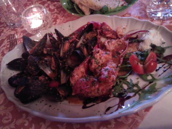 cristina restaurant: Dinner
