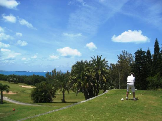 Ocean View Golf Course: sweeping vistas