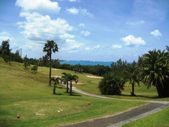 Ocean View Golf Course: bit of a 'billy goat's' course, a lot of up'ndown