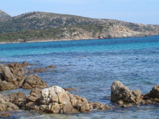 Spiaggia di Tuerredda: il mare del sud stupendo