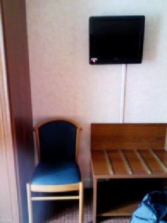 Hotel Terminus Lyon: 窓