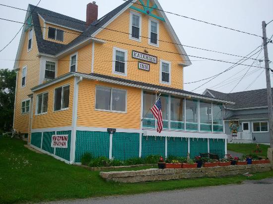 "Katahdin Inn on the Beach: Our beloved ""Yellow House"""