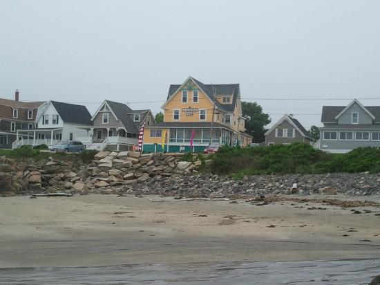 Katahdin Inn on the Beach: View from the beach