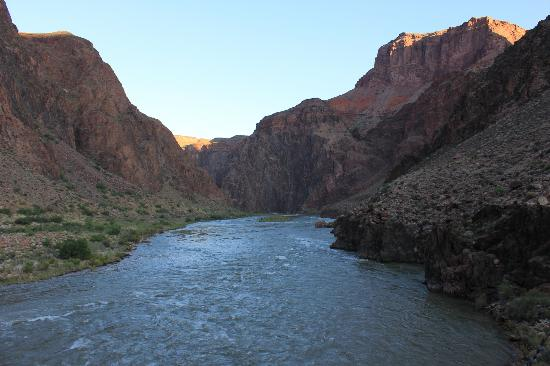 Inner Canyon: From the black bridge looking east