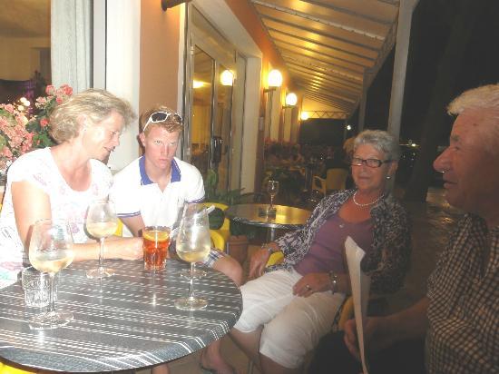Hotel Ca' D'Oro : Beuscher aus st.Veit/Glan und Überfeld!