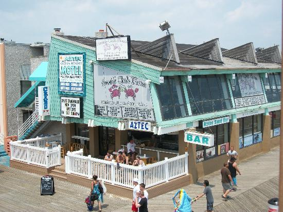 Seaside Heights, Nueva Jersey: From the mini golf roof