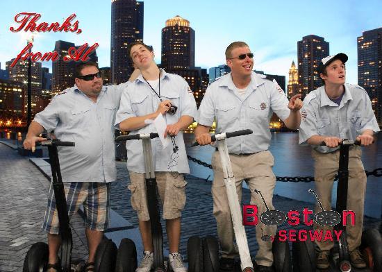 Boston Segway: Captains having fun