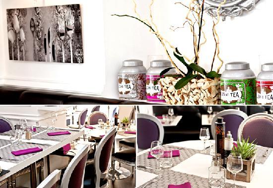 Restaurant Le Boudoir Rue Chauvain Nice