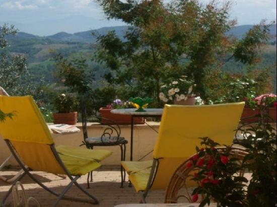 Il B&B di Montenero: terrazza panoramica