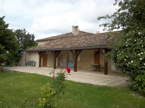 Chambres d'hotes Saint Emilion Bordeaux: Beau Sejour: Cottage Patio
