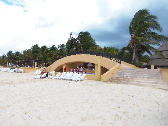 Telchac Puerto, Meksika: Reef Club beach