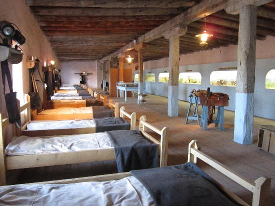 Fort Garland Museum: Sleeping Quarters