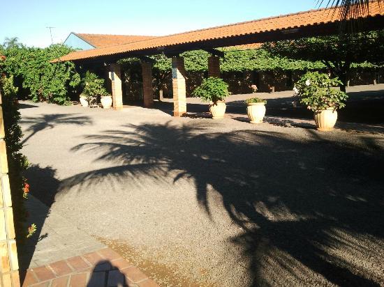 Roman Villa Park Hotel: área comum
