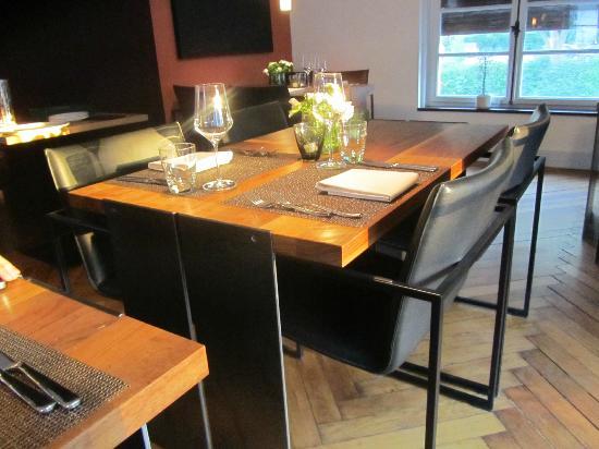 Osteria Bonomi in der Villa Behr: Elegantes Mobiliar