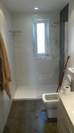 One Istanbul Hotel Suadiye: Bathroom, can open window