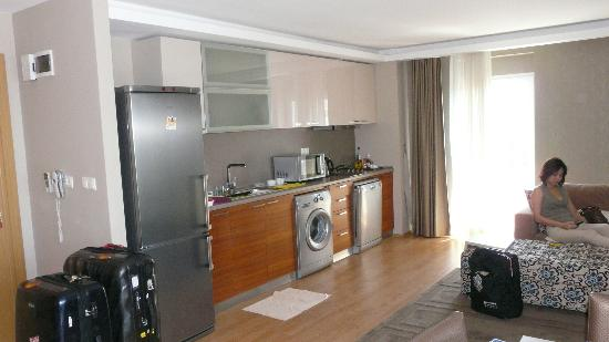 One Istanbul Hotel Suadiye: Kitchen corner