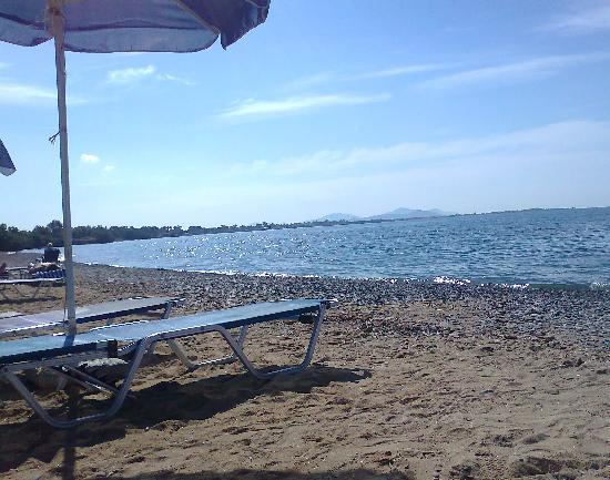 Kipriotis Maris: Sun Bed at the beach
