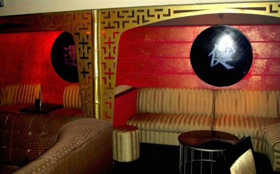 Kamikaze Cocktail Sushi Lounge: Kamikaze lounge.