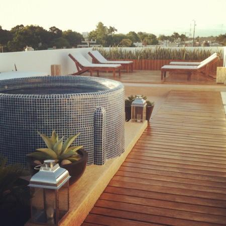Hotel Julamis: nueva terraza