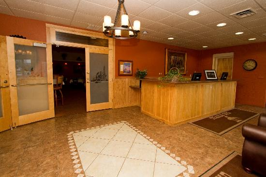 Trails End Motel Sheridan: Motel Lobby