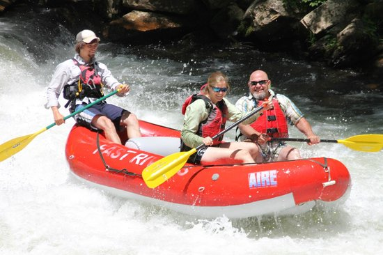 Carolina del Norte: A great day on the Nantahala!