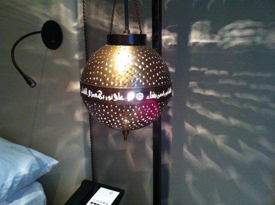 Shaza Al Madina: bedside hanging lantern
