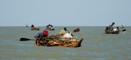 Bahar Dar, เอธิโอเปีย: Flottiglia di ambatch