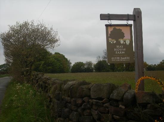 Hay House Farm Entrance