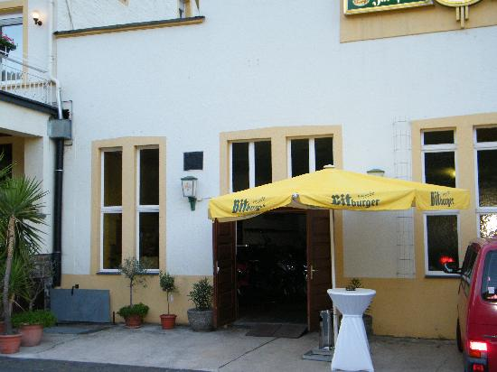 Hotel, Gasthaus &  Restaurant zur Post : Entrance to bike park