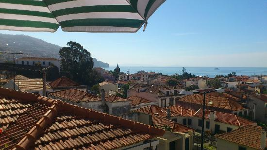 Vila Teresinha  Guest House: View from our terrace, absolutely lovely