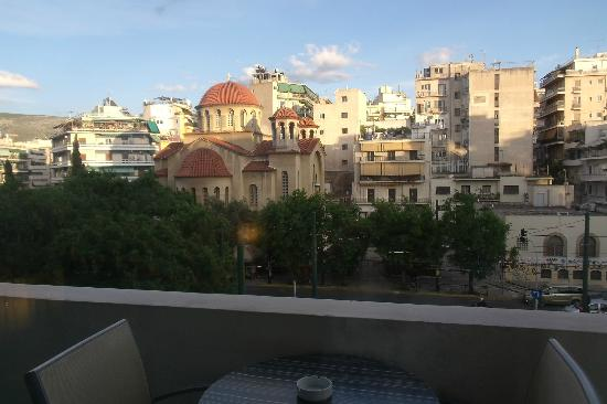 The Athenian Callirhoe Exclusive Hotel: View from the Balcony