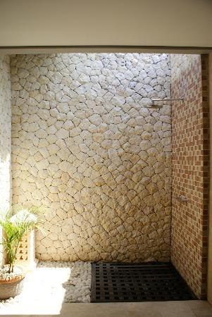 Open air concept bathroom - shower - Picture of Abi Bali Resort ...