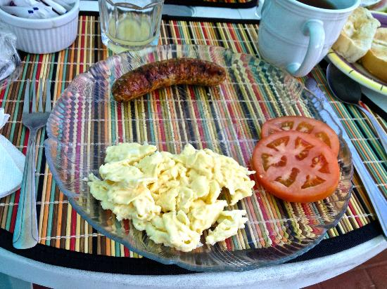 Casa Libre Puerto Rico: One of the lovely breakfast by Patti