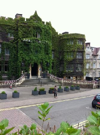 The Abbey Hotel: hotel frontage