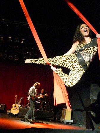 Top 10 Rock and Roll Revue: On the silks