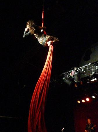 Top 10 Rock and Roll Revue: Samantha Feller on silks