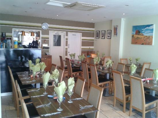 Bispham, UK: Restaurant