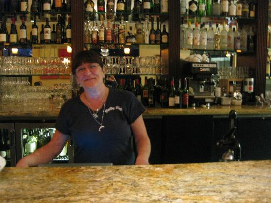 Cafe Bink: Donna at the Helm