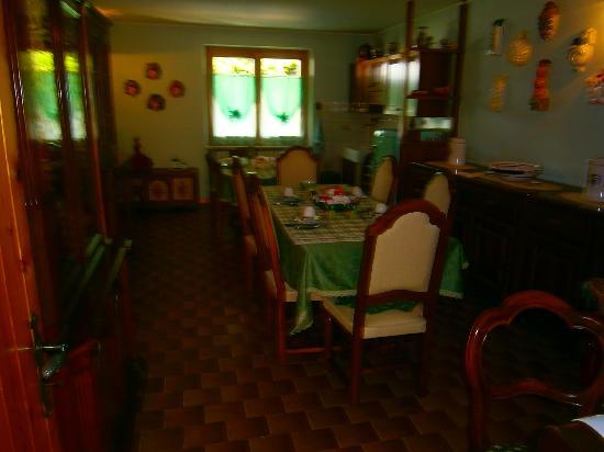 B & B Carmen Biondani: sala colazioni