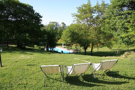 Hotel Relais San Lorenzo: Vista sulla piscina