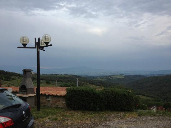Casa Guaitoli: Paesaggio