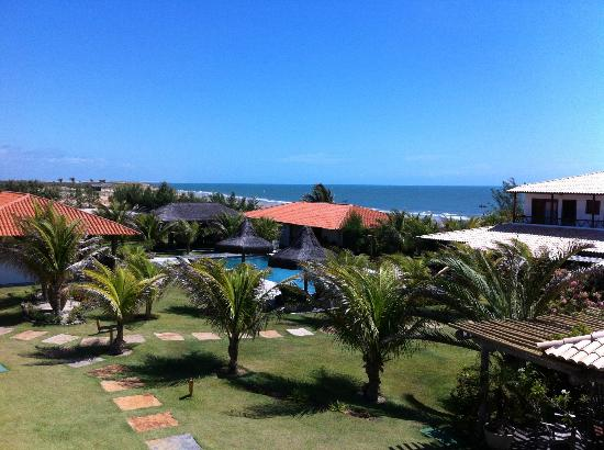 Hotel Vila Selvagem: Aerial view of pool and beach