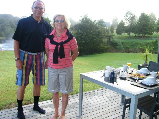 Clearwater Retreat: Frühstück am Waitangi