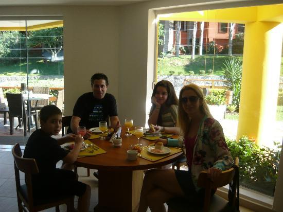 Pousada Joao Fernandes: Los excelentes desayunos de la mañana
