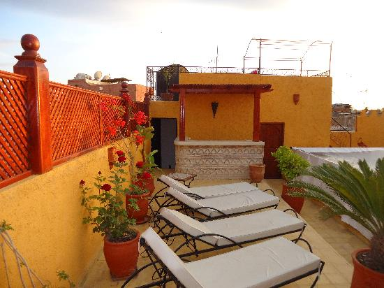 Riad Aldiana : Terrasse solaruim