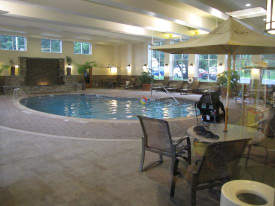 Holiday Inn Resort Lake George: Inside pool