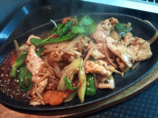 New Saigon Restaurant: Sizzling Mongolian Chicken