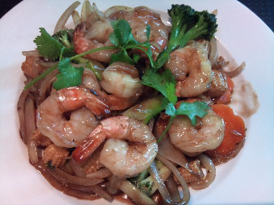 New Saigon Restaurant: Ginger Prawn
