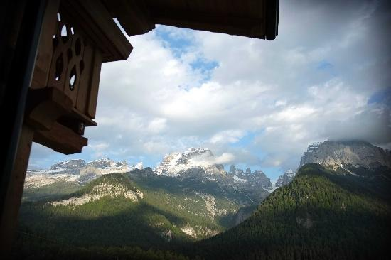 Chalet Fogajard: view from the room